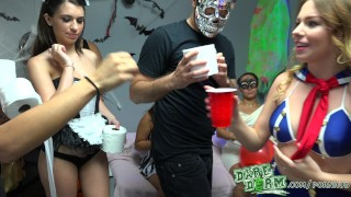 Daredorm - Halloween party porno