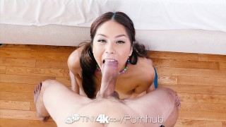 Tiny4K - Asian hottie Samantha Parker dildos her pussy before fuck  masturbation oral-sex dildo asian blowjob huge-cock sex-toys tiny4k samantha-parker hardcore 4k sexy-asian 60fps shaved tight big-dick