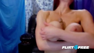 Dirty Talking Slut With Big Huge Tits Will Make You Cum Fat fat