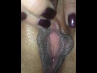 Close up orgasm