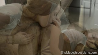 Preview 2 of She Made Us Lesbians - The hottest lesbian scene you will ever watch
