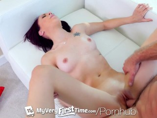 MyVeryFirstTime - Small breasted exotic Dani Love begs for creampie