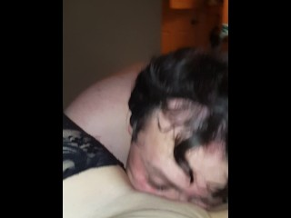 Face full of pussy