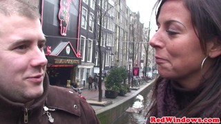 Amsterdam whore jizzed in mouth