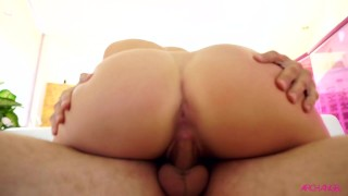A kandace cock kayne rides big reverse riding