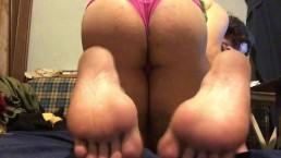 Tranny panty feet