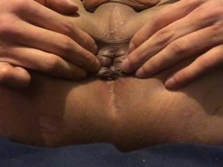 Tranny hole close up