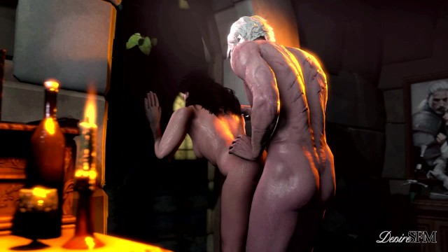Throes of orgasm The throes of lust - yennefer sfm - the witcher 3
