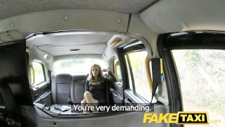 Fake Taxi Hot posh lady seduces driver  lithuanian outside point-of-view blowjob huge-cock cumshot public pov camera busty faketaxi milf spycam car reality crazy rough horny