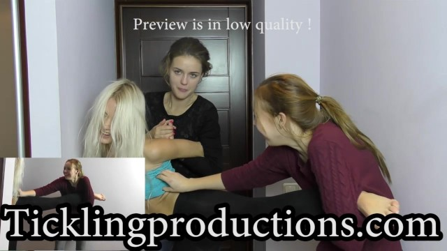 Strip coiling hold-down arm Tickling natasha part 5 - hold her still - clip is 5:56 min long -