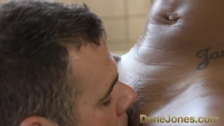 Dane Jones Amazing blowjob and hot tub fuck with pretty young ebony girl porno