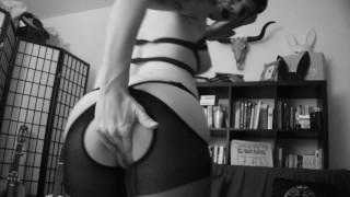 slutty demon girl on webcam