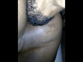 Hubby Playing with his Pussy