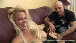 Big Tit Milf Creampied by Young Tattooed Stud