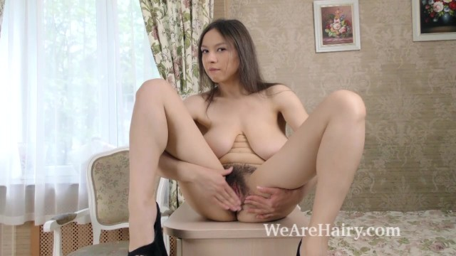 Hairy bear picture Veronika mars strips and plays after pictures