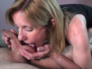 Shop Sex Vedios MILF Sucks and Fucks A Young Nervous Pornhub Member
