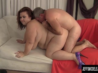 Huge natural boobed woman fucked good