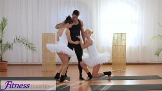 ballet threesome porn