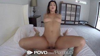 POVD - Gorgeous Leah Gotti fucked and facialed after shower  babe big-cock big-tits cock-sucking hd point-of-view blowjob pornstar pov busty shower hardcore natural-tits brunette povd leah-gotti