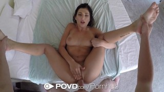 POVD - Gorgeous Leah Gotti fucked and facialed after shower porno