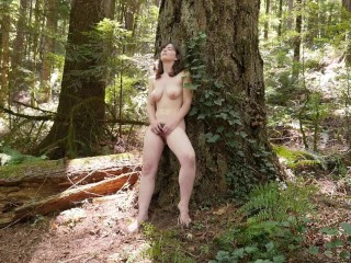 Sex Escorts Moscow Sweet Raven Masturbating Outdoors, Amateur Big Tits Masturbation
