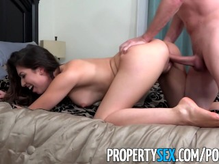 PropertySex - Hot young real estate agent really wants listing