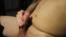 Multiple Cum spurts straight up from my lovely thick cock -dick in america?
