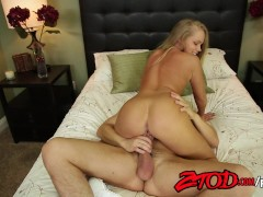 Hot Blonde Teen Britney Young Gets Fucked And Pussy Creampied By Alex Gonz.