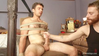 Super Straight Stud Gets His Big Cock Edged By A Guy For The 1st Time EVER!