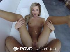 Movie:POVD - Lean blonde Bella Rose ...