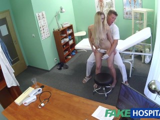 Fake Hospital Doctor finds sexual surprise in patient's wet pussy