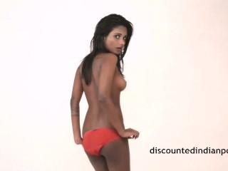 Erotic Indian Model Shooting Porn