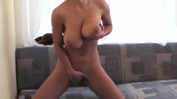 SHE HAS HUGE TITS - FINGERING