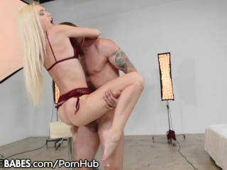 FootsieBabes Alex Grey Stocking Footjob Fucking