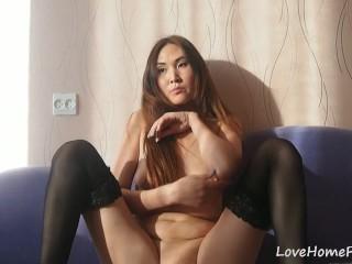 Naked in public spanking
