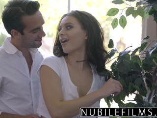 Kat Anal Threesome Nubilefilms - Lana Rhoades Seductive Tease For Step Brother