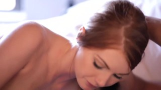 Redhead too cute for porn  teasing riding babe stripping erotic redhead blowjob cumshot female-friendly sensual hardcore cowgirl cute small-tits romantic