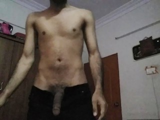 paki young guy wanking