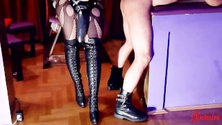 BDSM Room rodder slave anal destruction