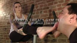 Avery's Sweaty Gym Feet - www.c4s.com/8983/16827556