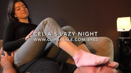 Celia's Lazy Night - www.c4s.com/8983/16827630