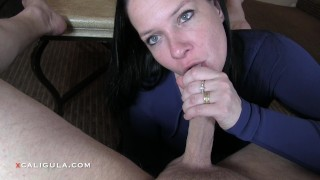 He Could Not Resist-Slow Teasing Leads To A Huge Creampie