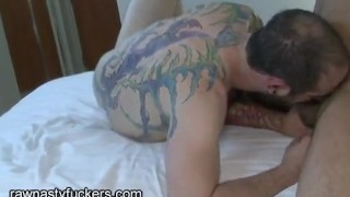 Flip It Up!  big cocks ass fucked bareback hairy amateur blowjob tattoo hardcore doggy raw latino muscle latin rawnastyfuckers