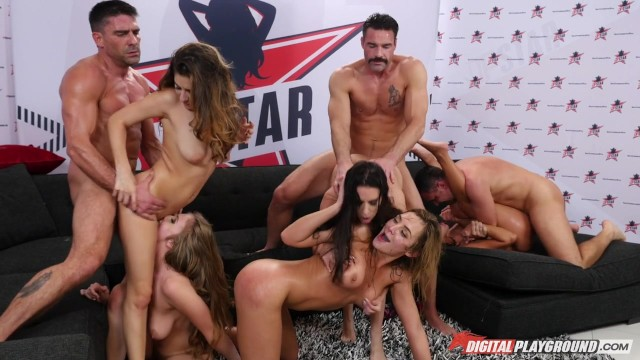 Cassidy morgan porn star - Digital playground- dp star season 3 episode 6, final top 5 orgy