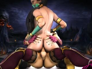 Cartoon porno Mortal Kombat