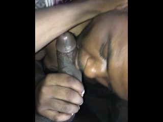 My first time sucking a BBC