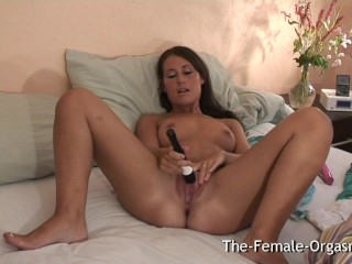 Shy Teen Masturbates her Fanny to Multiple Wet Pussy Pulsing Orgasms