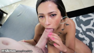 MyXXXPass Teen Cocksucker Facialed