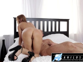 Anilos - Beautiful Wife Face Fucks Big Cock