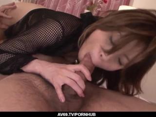Steamy amateur Japanese hardcore with Natsumi Mitsu